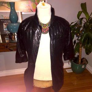 Sexy sequin blazer